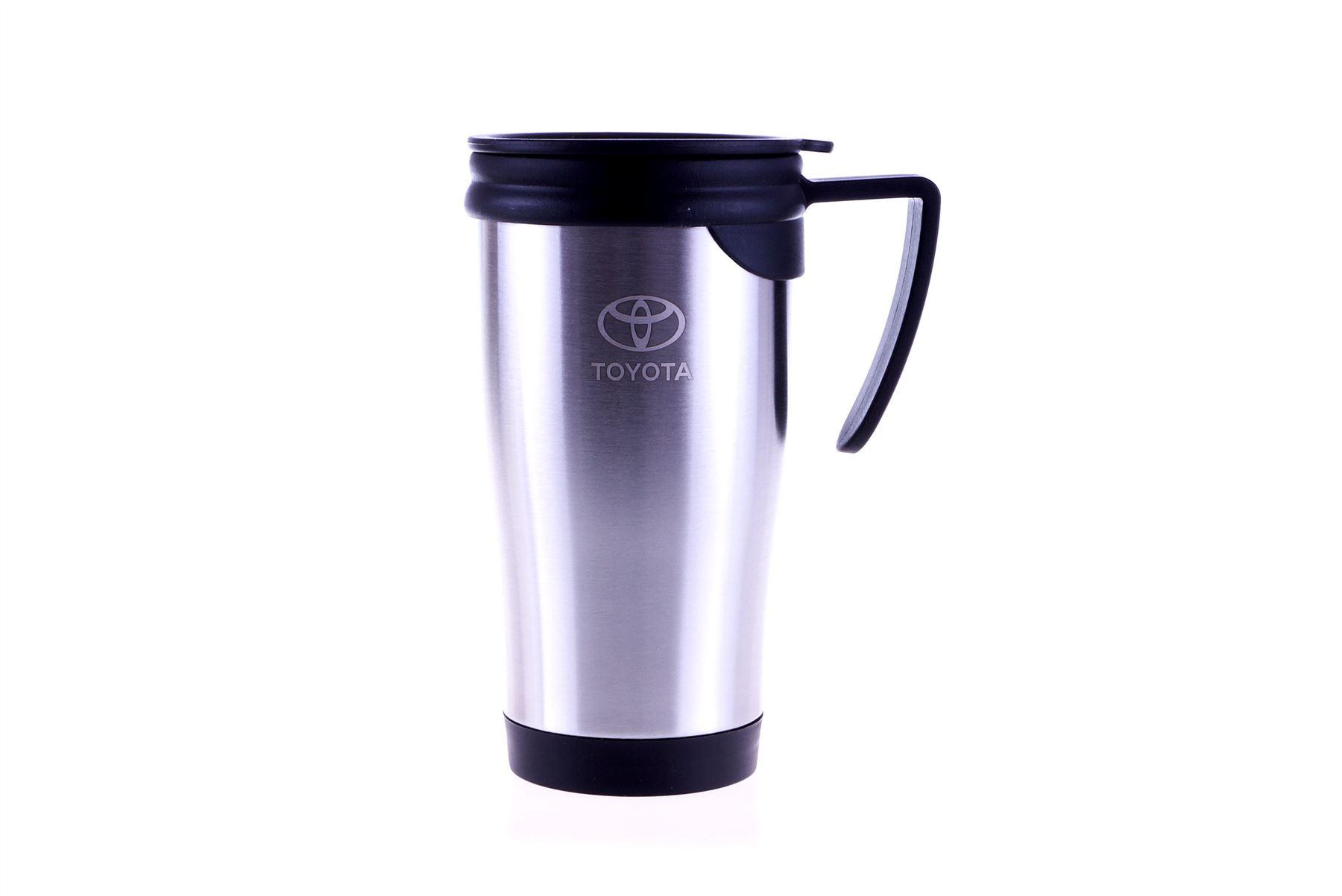 Genuine toyota 450ml stainless steel travel coffee cup mug - Travel mug stainless steel interior ...