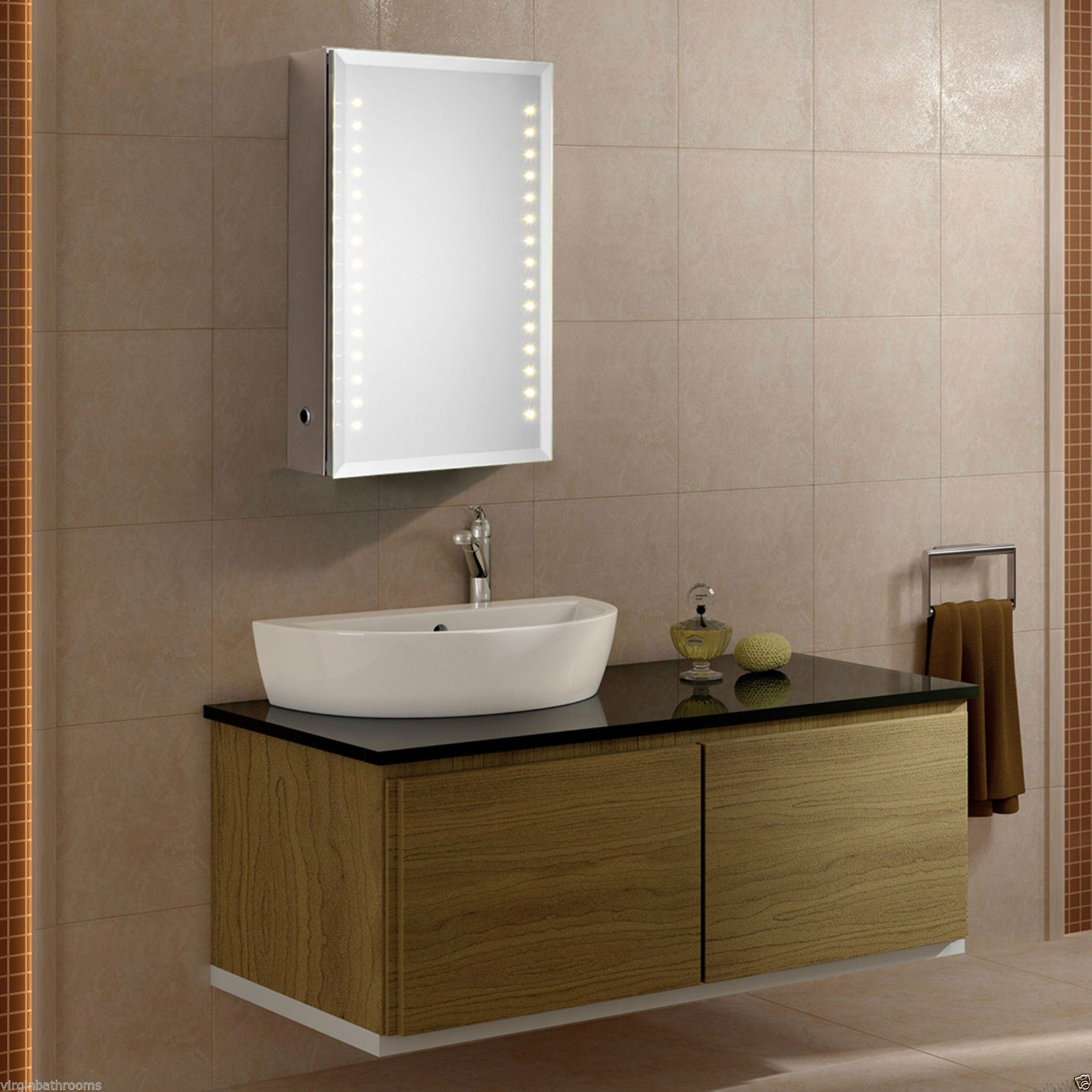 Bathroom mirror cabinets with light and shaver socket - Illuminated Bathroom Cabinets Mirrors Shaver Socket Saturn Led Illuminated Bathroom Mirror Cabinet Infra Red Sensor