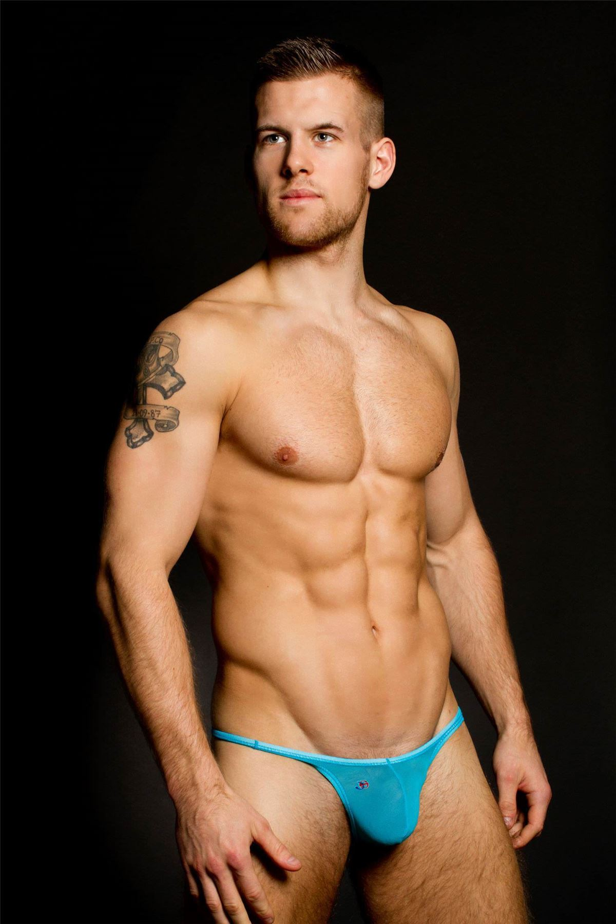 sheer bikini brief