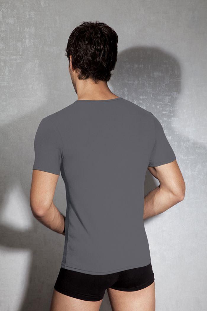 Doreanse 2820 Very Deep V Neck T Shirt Soft Cotton Modal