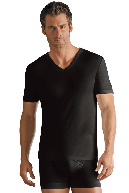 Mens Jockey Pure Cotton Modern Classic V Neck T Shirt