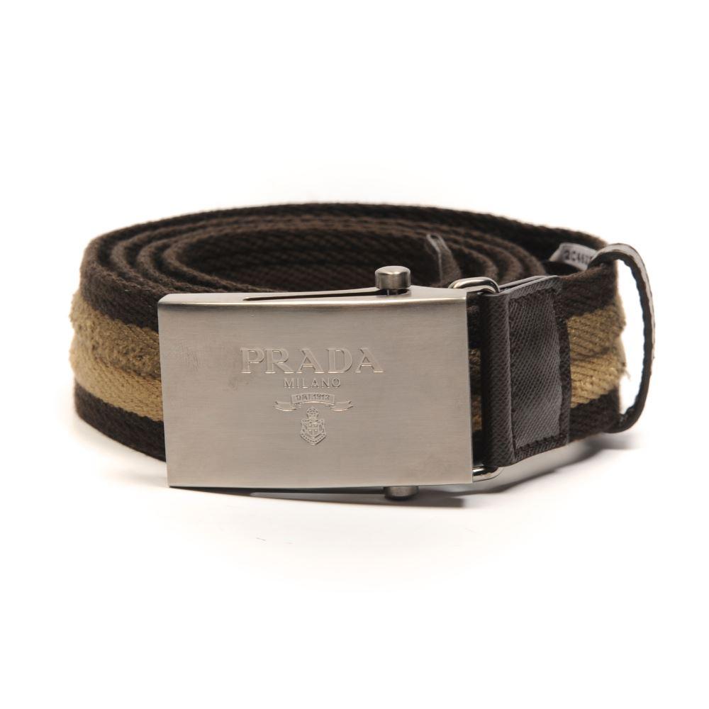 prada cloth belt