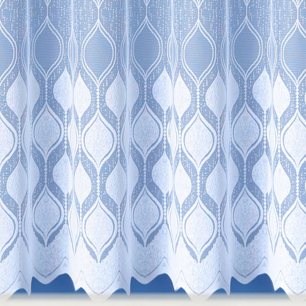 MODERN WHITE SHEERS NET CURTAIN LUXURY LACE CURTAINS NETS SOLD BY ... for Net Curtains Texture  66pct