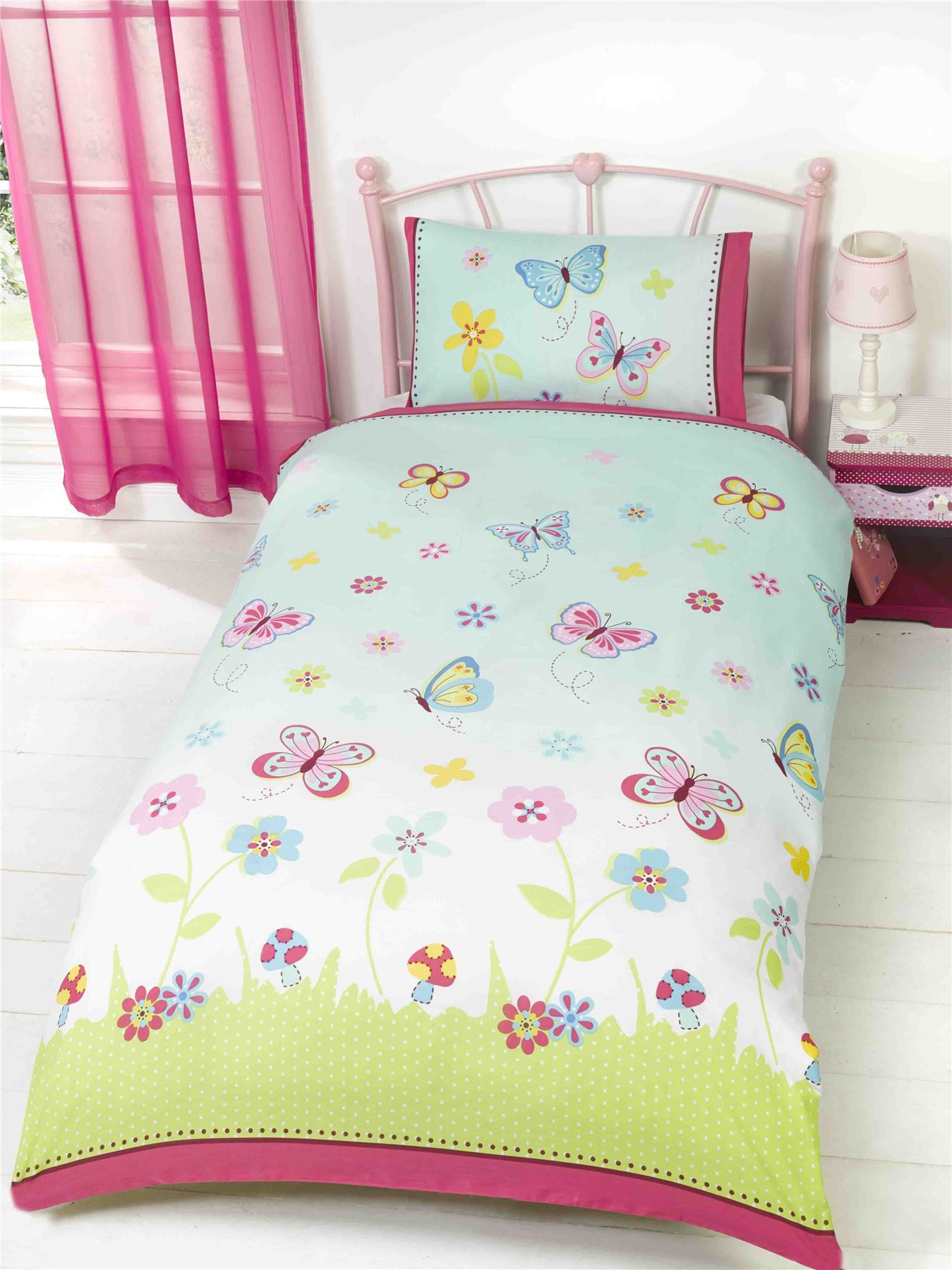 kids duvet covers childrens bedding doona cover set girls. Black Bedroom Furniture Sets. Home Design Ideas