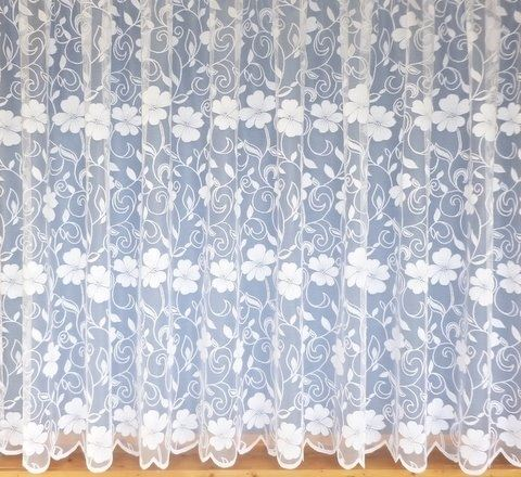 NET CURTAINS - WHITE LACE CURTAIN NETS - SOLD BY THE METRE