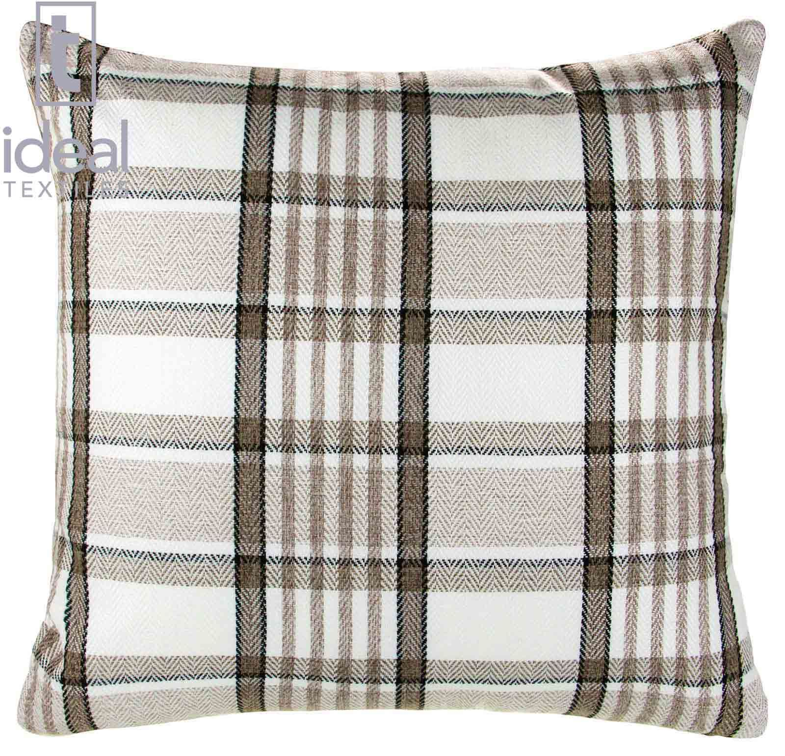 Decorative Plaid Pillows : CARLYLE TARTAN PLAID CHECK CUSHION COVER 18