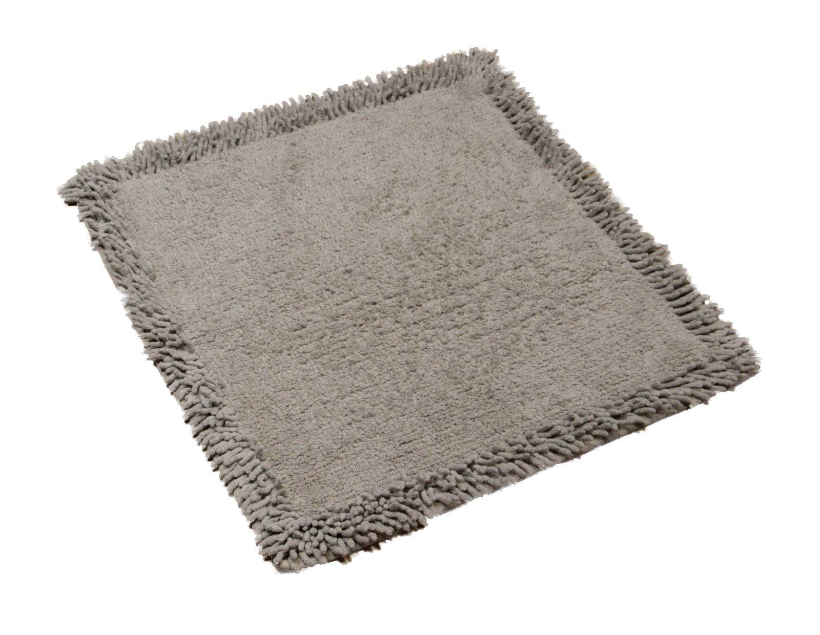 Soft Square Bathroom Bath Shower Mats Rug 100 Cotton