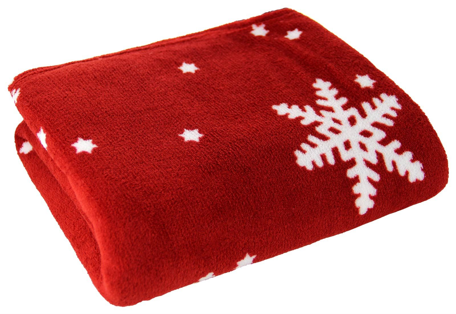 christmas throw blanket festive fleece plush and cosy snowflake nordic reindeer ebay. Black Bedroom Furniture Sets. Home Design Ideas