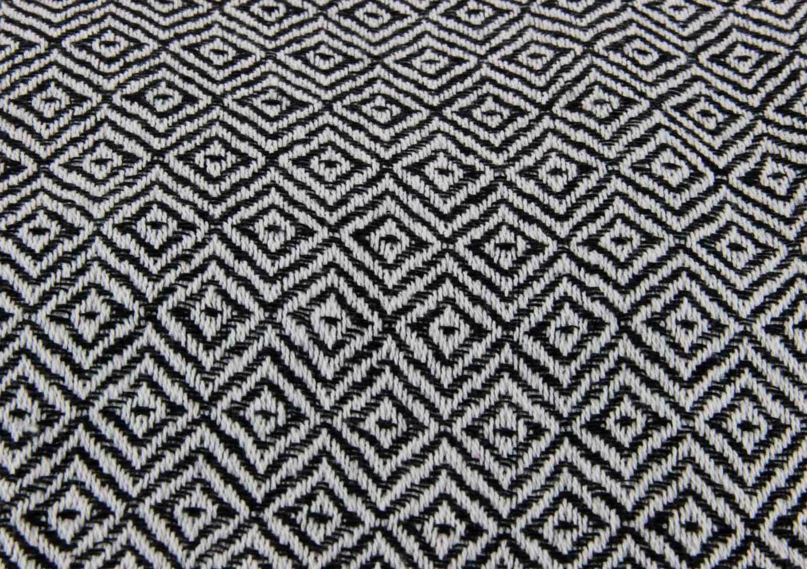 DIAMOND-THROW-100-COTTON-SOFA-BED-150CM-X-200CM-BEIGE-BLACK-GREY-ORANGE thumbnail 7
