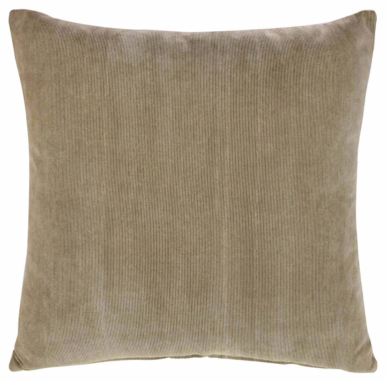 Soft Decorative Throw Pillows : LUXURY CORD CUSHION COVER 18