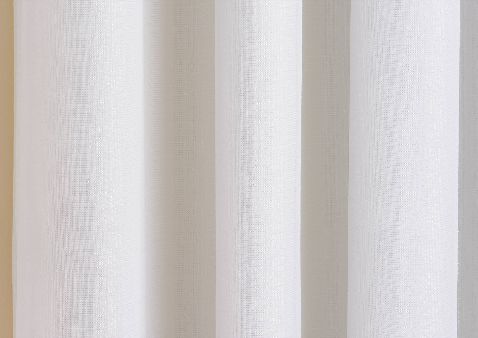 SANTIAGO EYELET CURTAINS SPARKLE LINED VOILES READY MADE