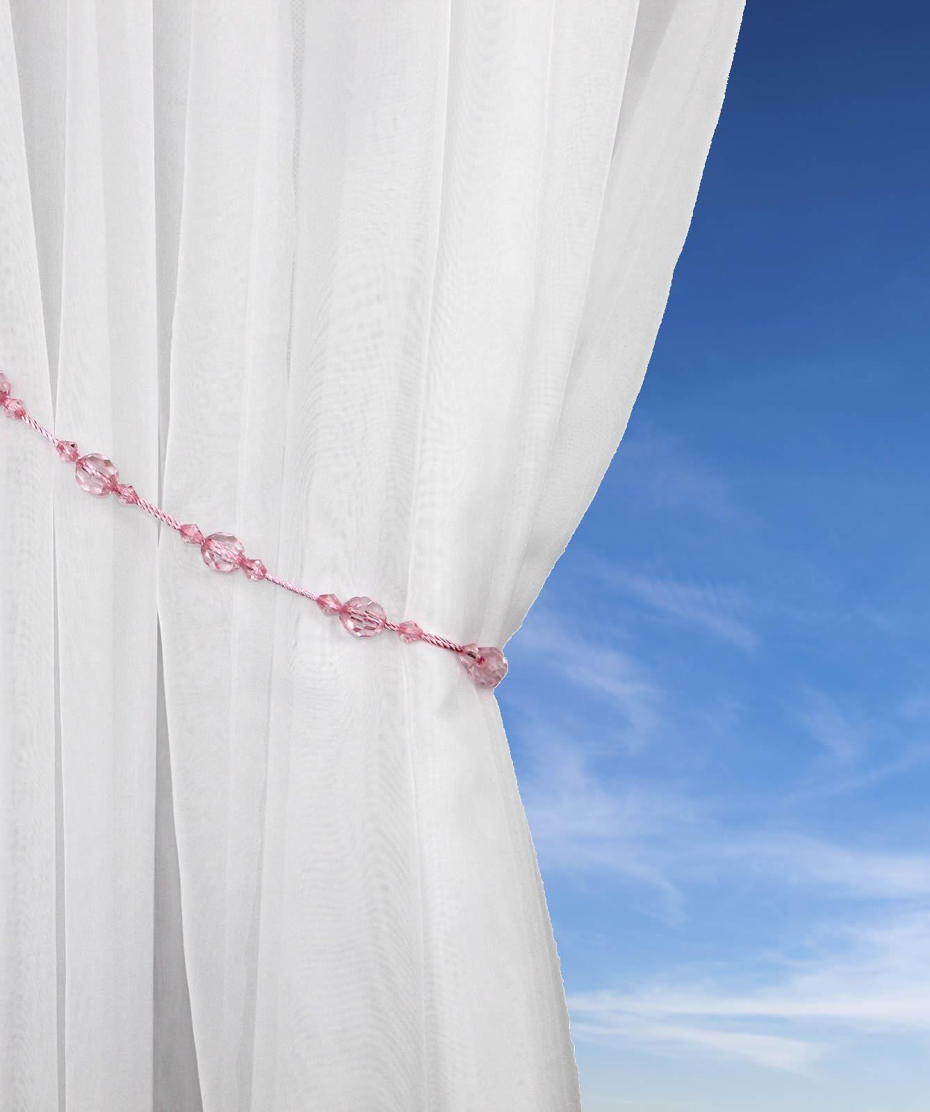 Crystal Bead Rope Tie Backs Sale Beaded Tieback Sold In