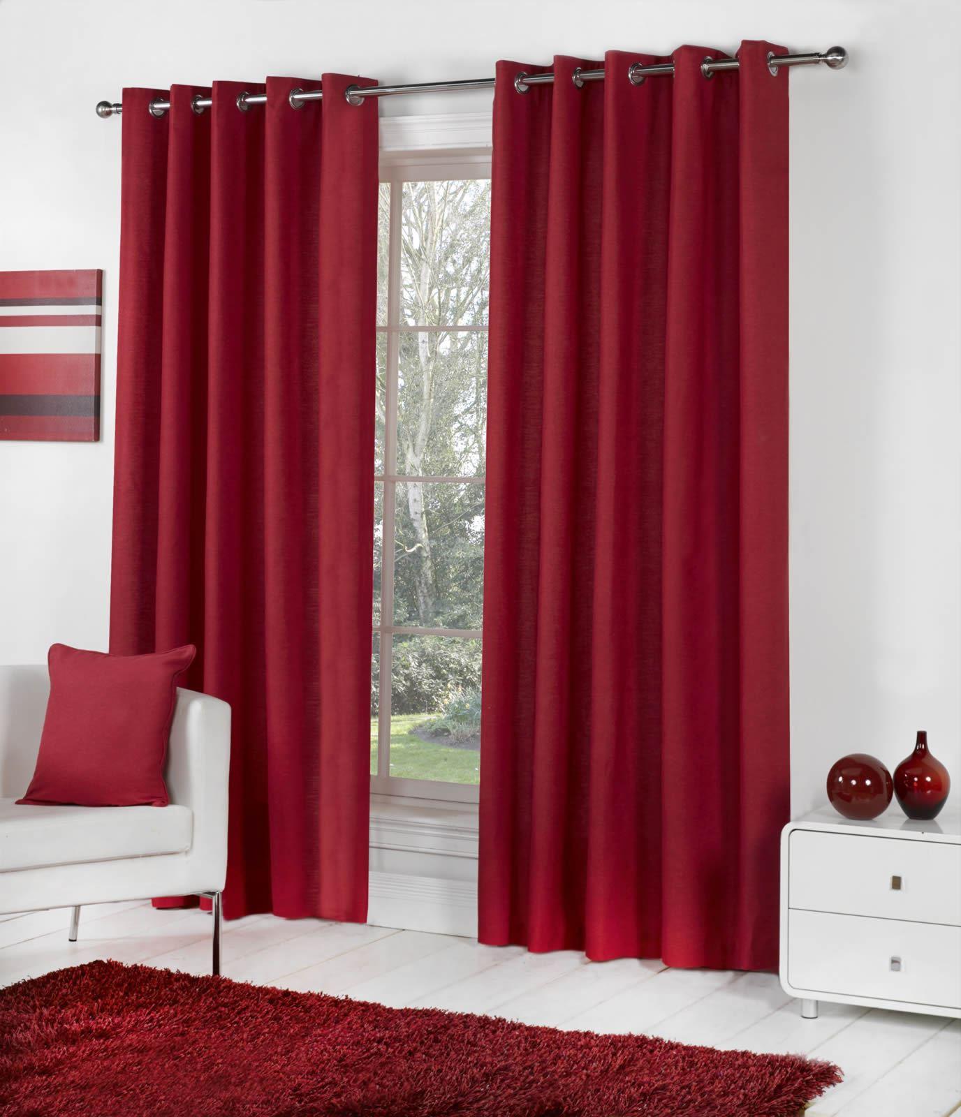 se vorh nge 100 baumwolle fertige vorh nge gardinen enth lt pack 2 ebay. Black Bedroom Furniture Sets. Home Design Ideas
