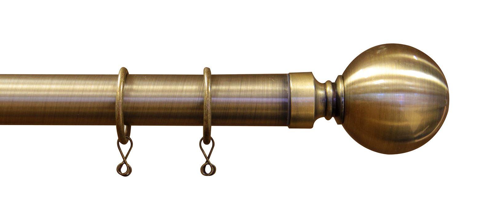 Curtain pole ends