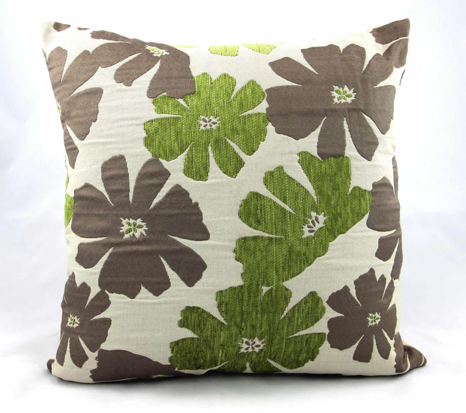 Luxury Designer Chenille Cushion Covers, 3 Designs, 3 Colours
