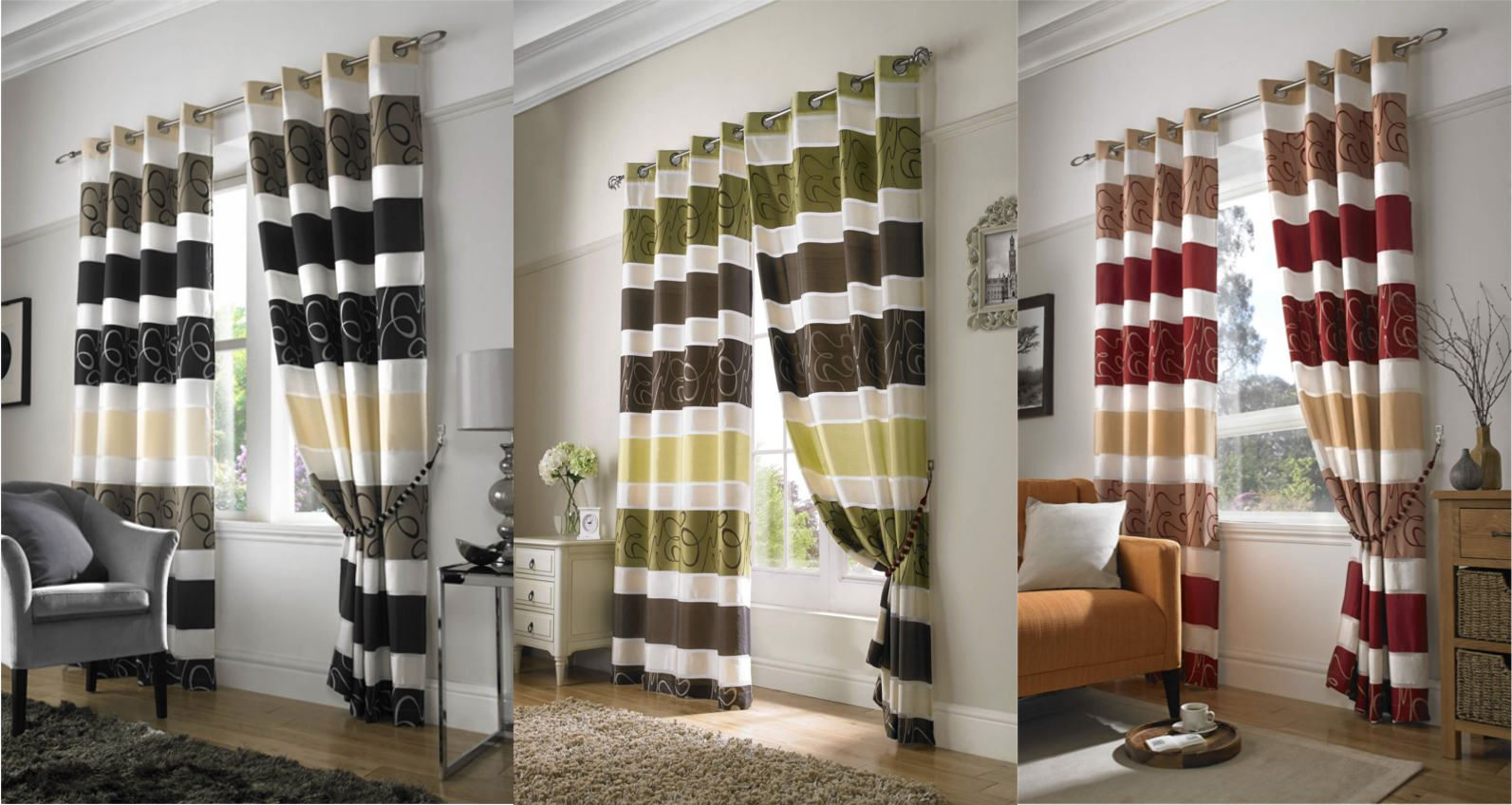Black and red curtains for living room - Living Room Red Curtains Zampco Red And Cream Curtains For Living