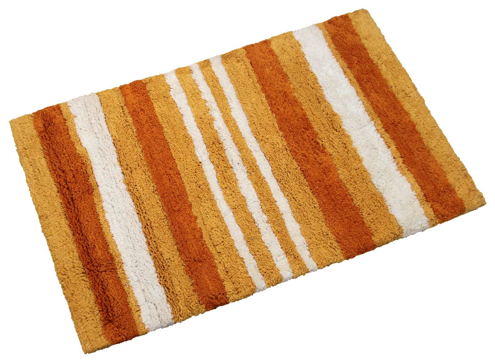 Danbury Modern Striped Luxury 100 Cotton Bathmat