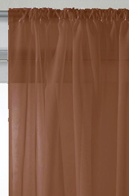 rideaux voile rod top panneaux de rideaux toutes les couleurs tailles ebay. Black Bedroom Furniture Sets. Home Design Ideas