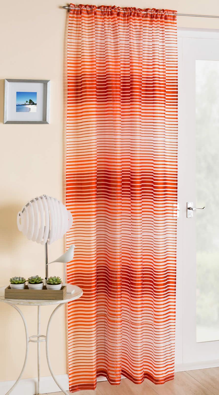 rideaux panneau de voile rideau la barbade bleu gris rouge orange ebay. Black Bedroom Furniture Sets. Home Design Ideas