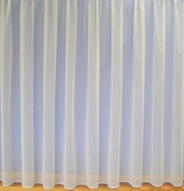 gardinen luxuri se hochwertige schnur meterware wei ebay. Black Bedroom Furniture Sets. Home Design Ideas