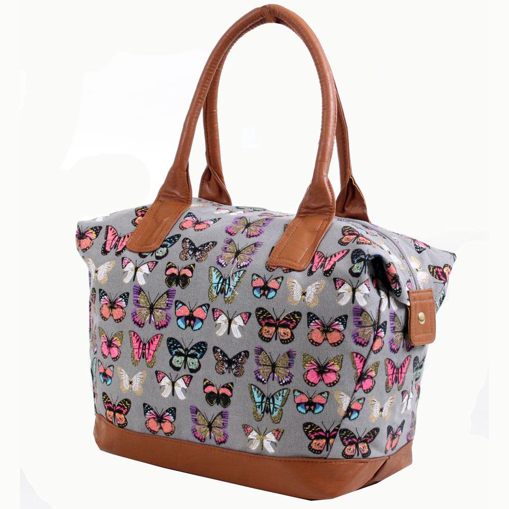 Original Womens Mens Weekend Overnight Bag Ladies Travel Sports Gym Luggage Holdall | EBay