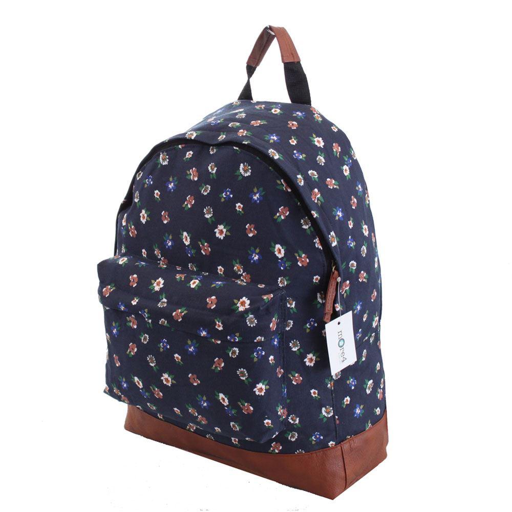 Mens-Boys-Girls-Retro-Designer-Backpack-Rucksack-School-Gym-College-Travel-Work