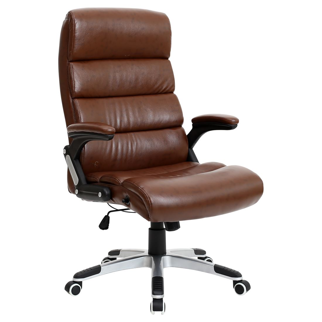 Havana Brown Luxury Reclining Executive Leather Office