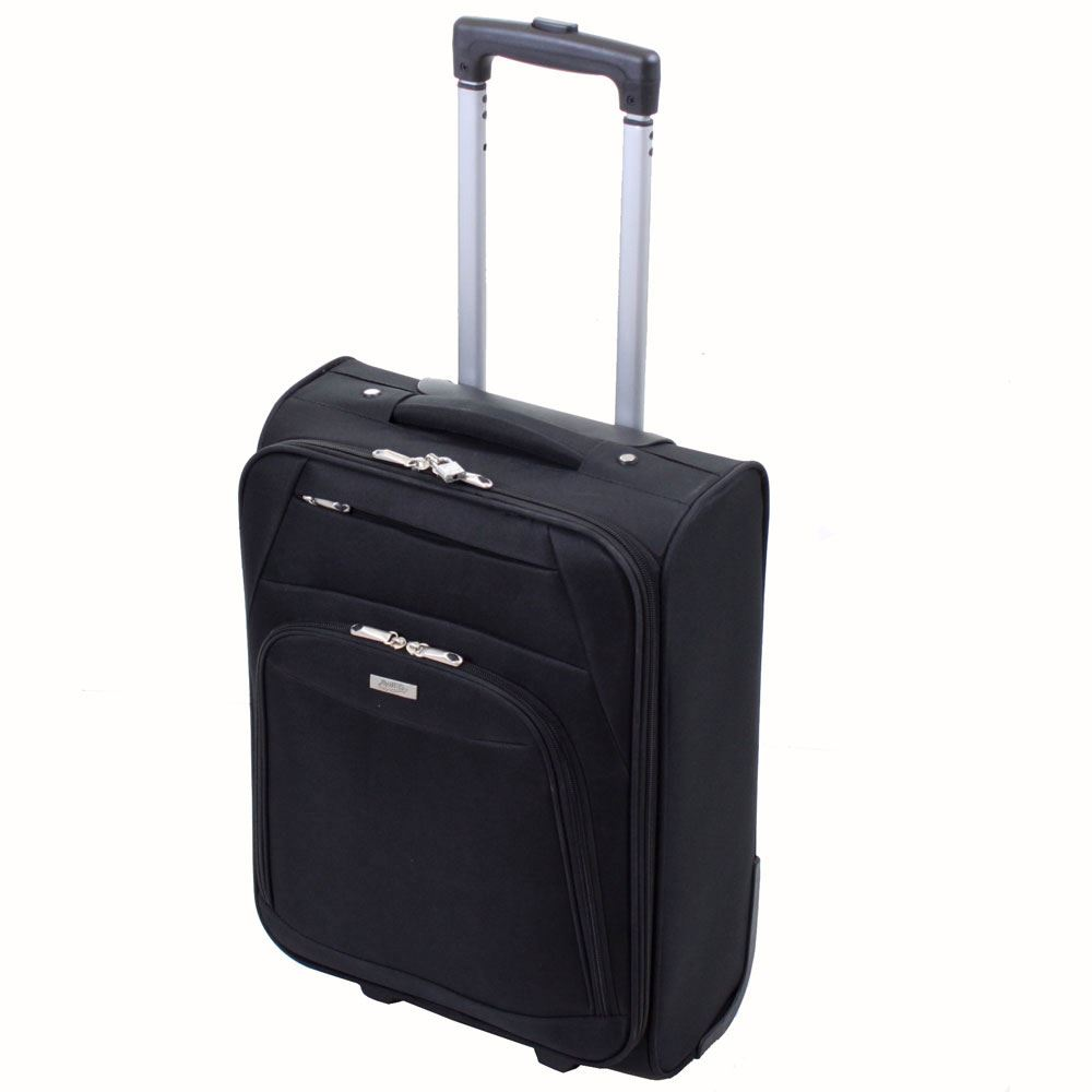 Executive Lightweight Cabin Suitcase Luggage Trolley Case