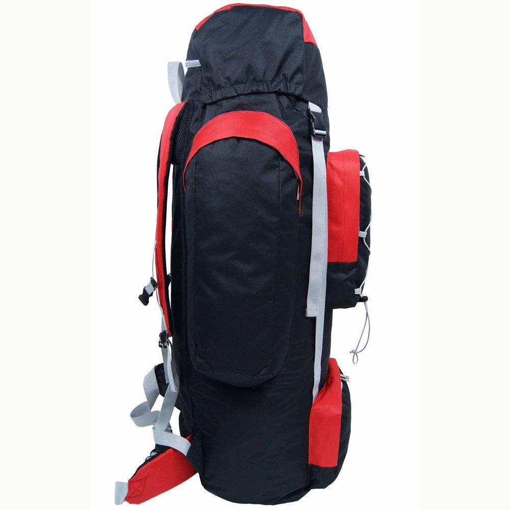 extra large 120 litre camping hiking travel rucksack. Black Bedroom Furniture Sets. Home Design Ideas