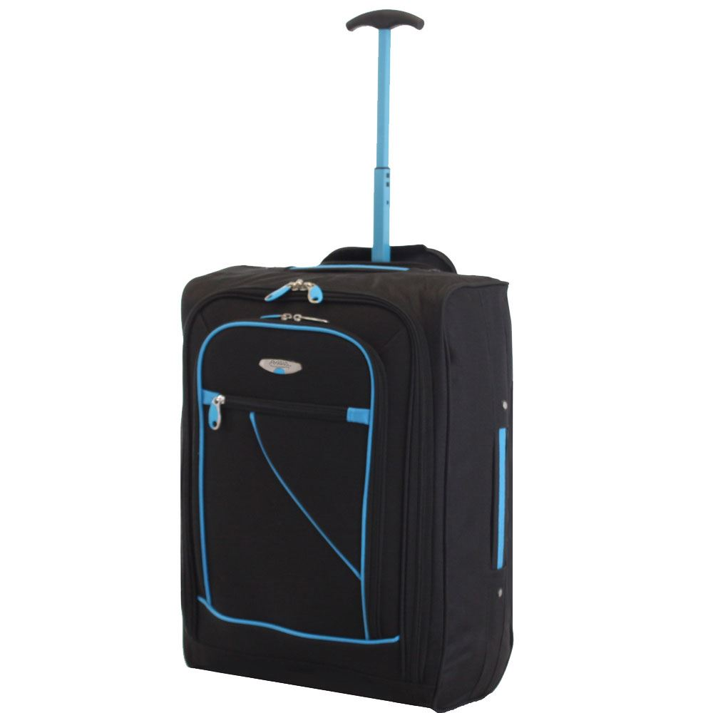 lightweight cabin approved luggage trolley holdall flight