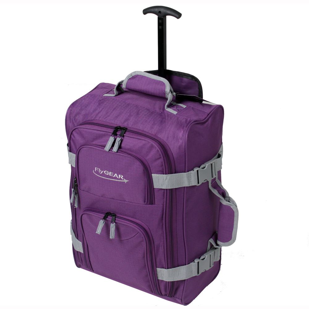 Lightweight Cabin Wheeled Travel Hand Luggage Trolley ...