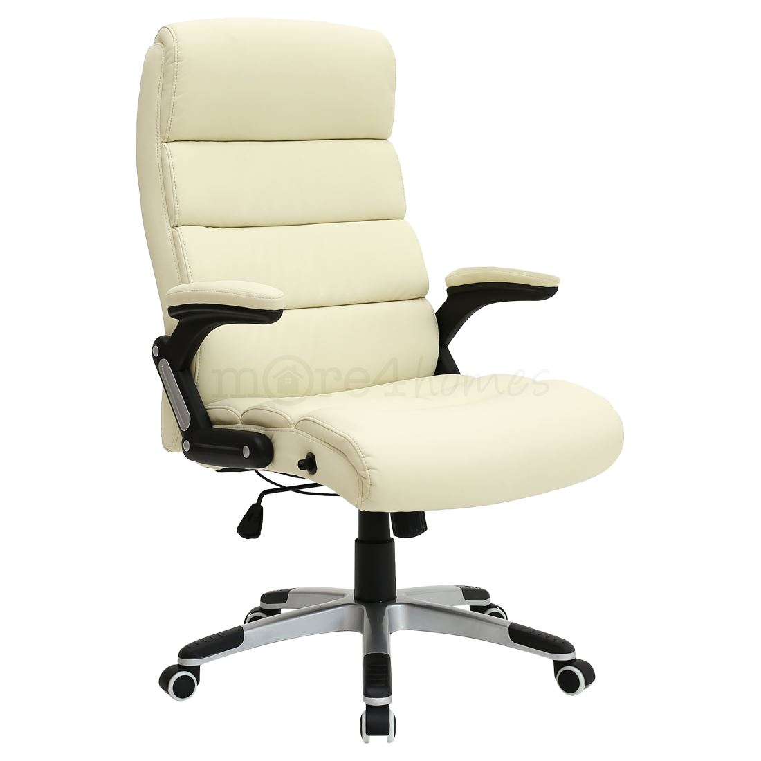 Havana Luxury Reclining Executive Leather Office Desk Chair High Back Swivel