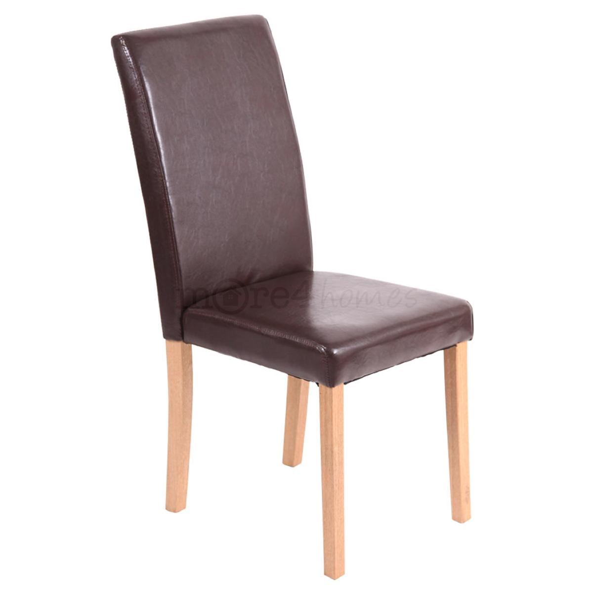 Faux Leather High Back Chairs Home Design Mannahatta Us