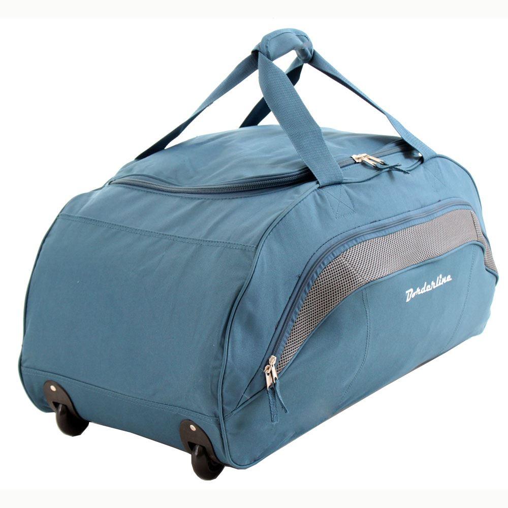 Extra Large XL Wheeled Cargo Duffle Travel Trolley Luggage Holdall ...