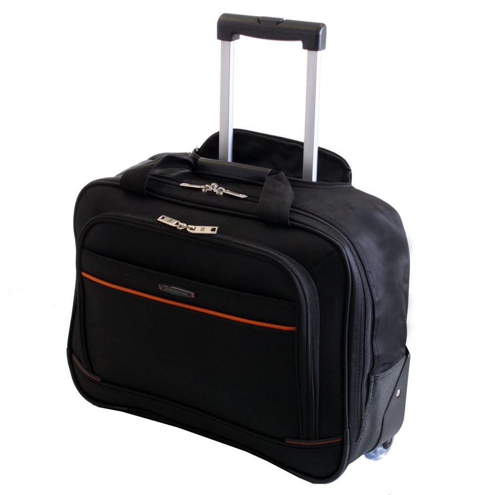 Wheeled Cabin Laptop Business Suitcase Briefcase Pilot