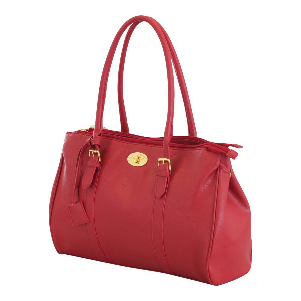 Ladies Womens Designer Leather Style Shoulder Tote Handbag Bag New