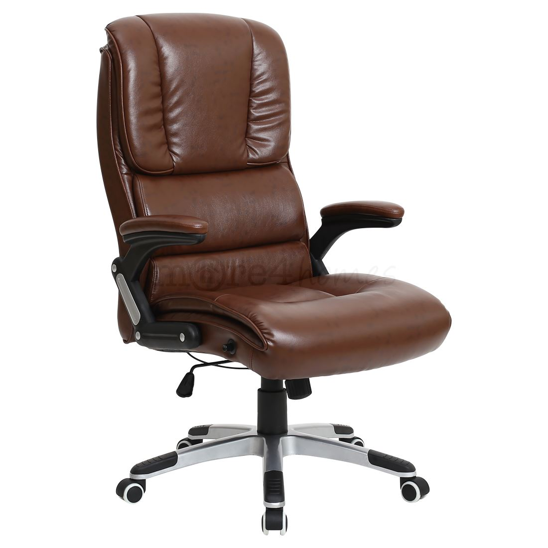 santiago super comfortable faux leather office swivel