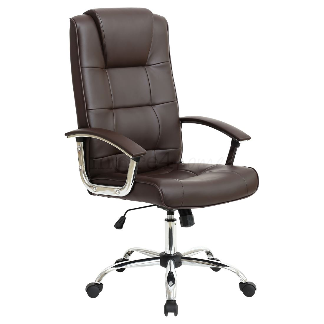 Executive Office Furniture: GRANDE HIGH BACK EXECUTIVE LEATHER OFFICE CHAIR COMPUTER