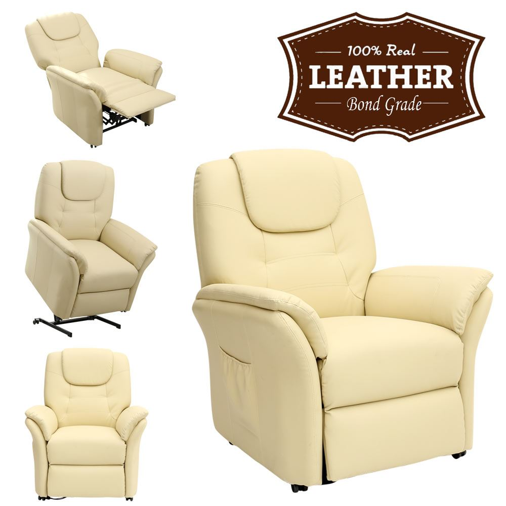 Windsor elecrtic rise recliner leather armchair sofa for Apex recliner motor model ap a88