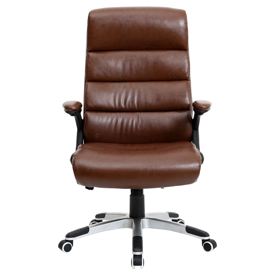havana luxury reclining executive leather office desk chair high back swivel ebay. Black Bedroom Furniture Sets. Home Design Ideas