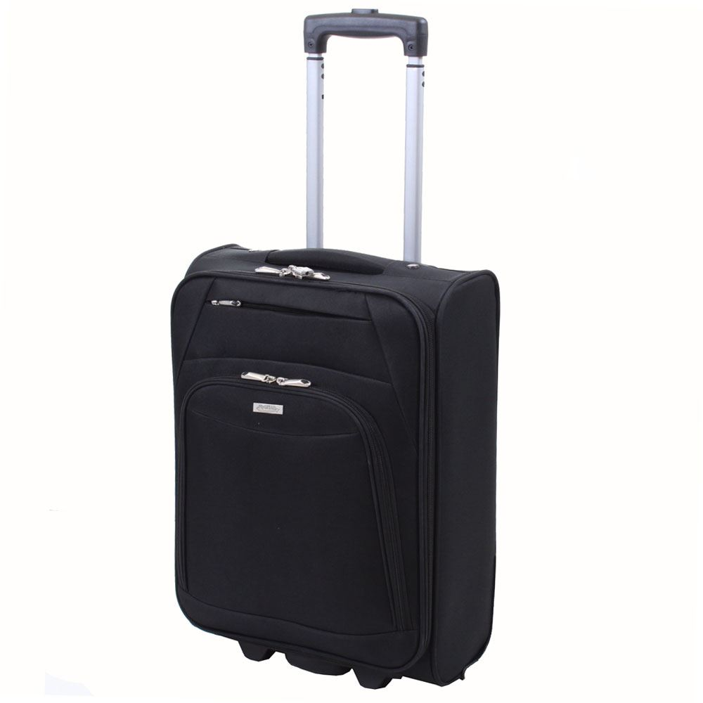 executive lightweight cabin suitcase luggage trolley case. Black Bedroom Furniture Sets. Home Design Ideas