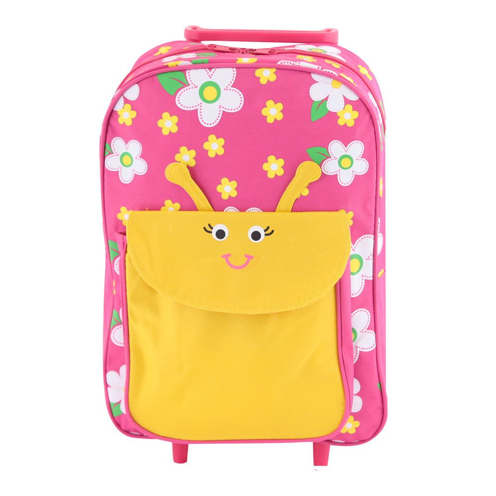 Kids Childrens Animal Wheeled Cabin Trolley Suitcase Hand Luggage ...