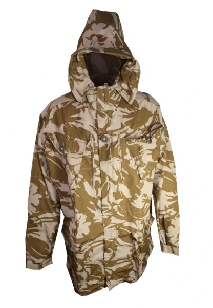 New British Army Desert DPM Camo SAS Parka ( Choice of Size ...