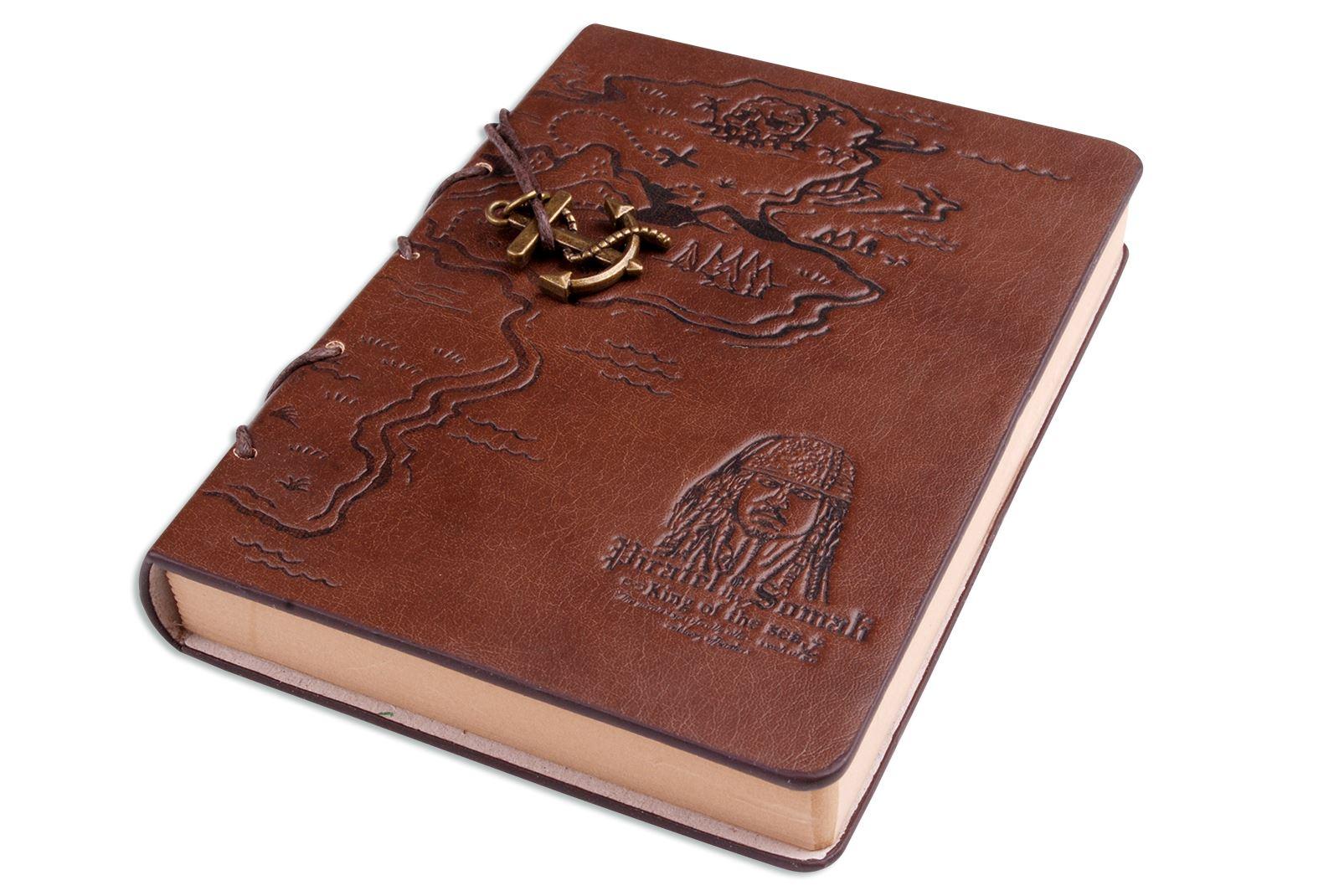 Hellfire trading de pu cuero pirata mapa diario diario - Como hacer un libro antiguo ...