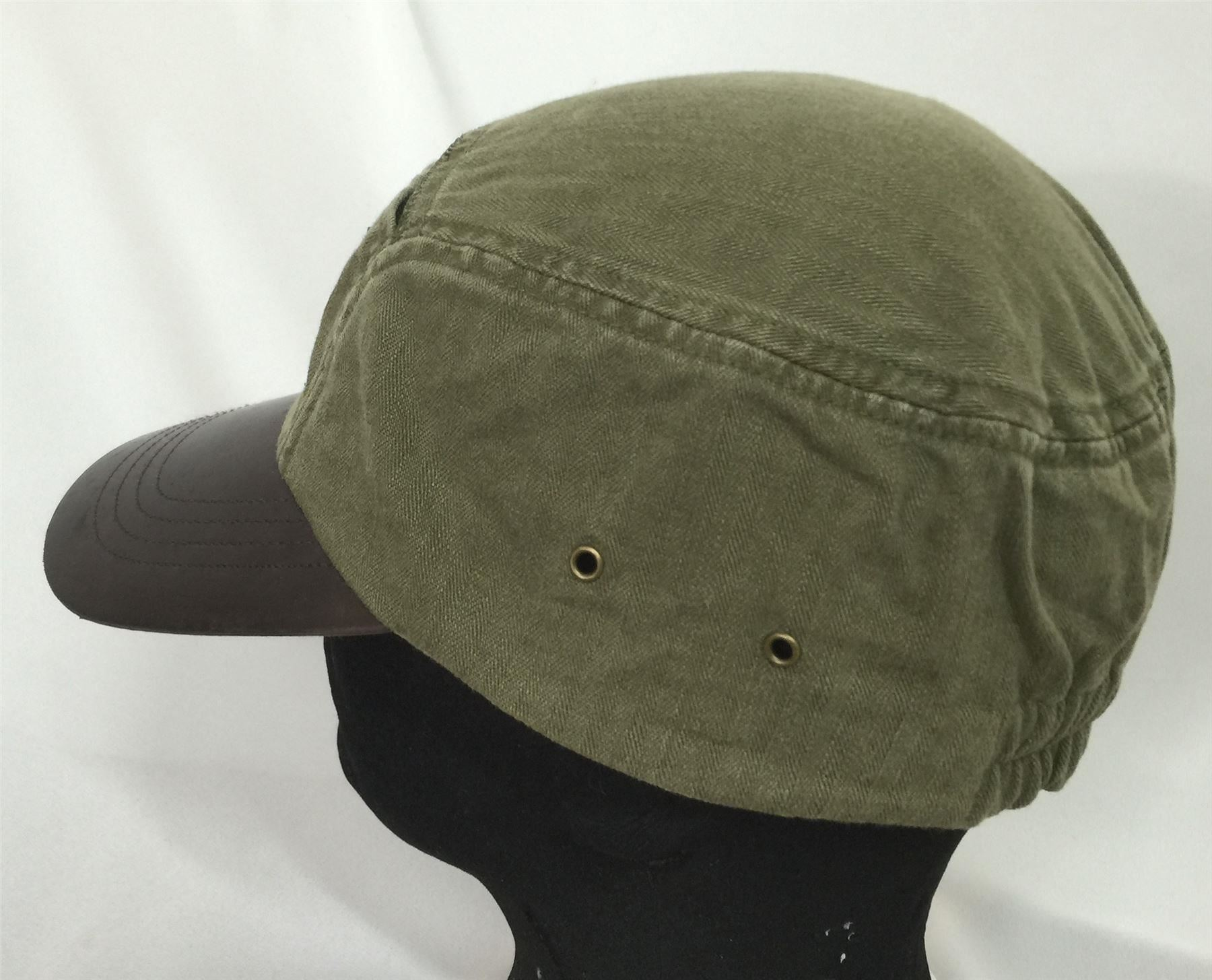 3d66f919345 Olive Green Mountain Expedition Climbers Leather Brim Polo Ralph ...