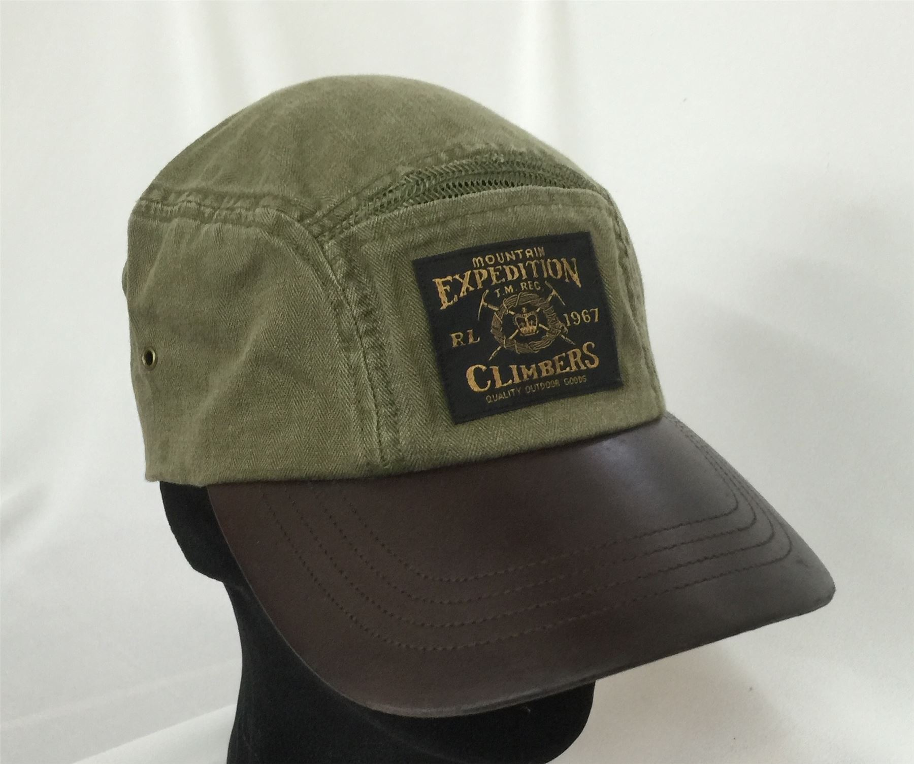 Polo Ralph Lauren Olive Green Khaki Mountain Expedition