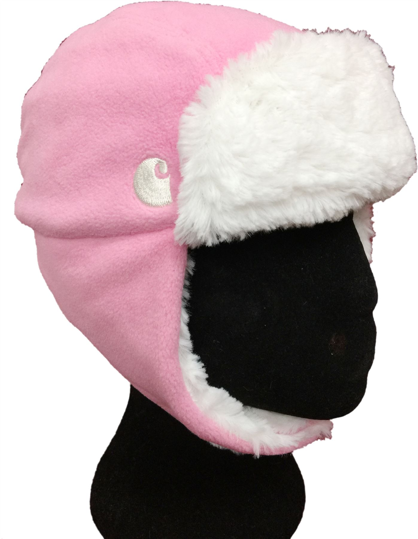 7ea90e23 Carhartt Infant / Toddler Fleece Fur Lined Chin Strap Trapper Hats ...