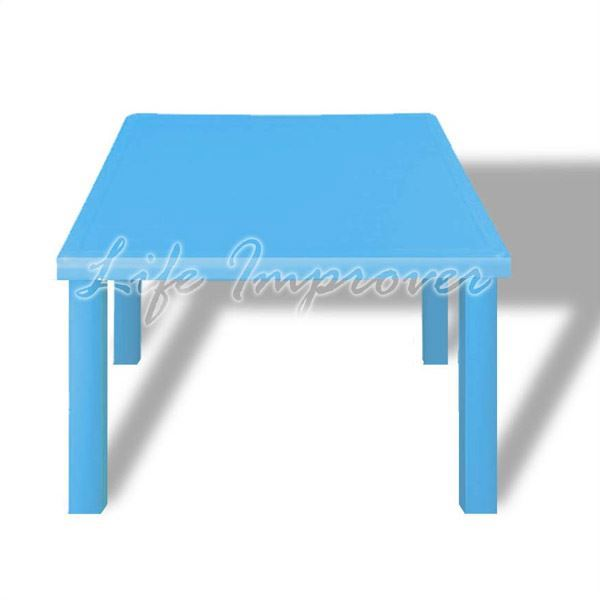 Kids children plastic indoor outdoor stackable garden child chair seat table ebay for Petite table de jardin pvc
