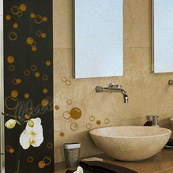 86 bulles d calque salle de bain mur d coration fen tre for Decoration fenetre salle de bain
