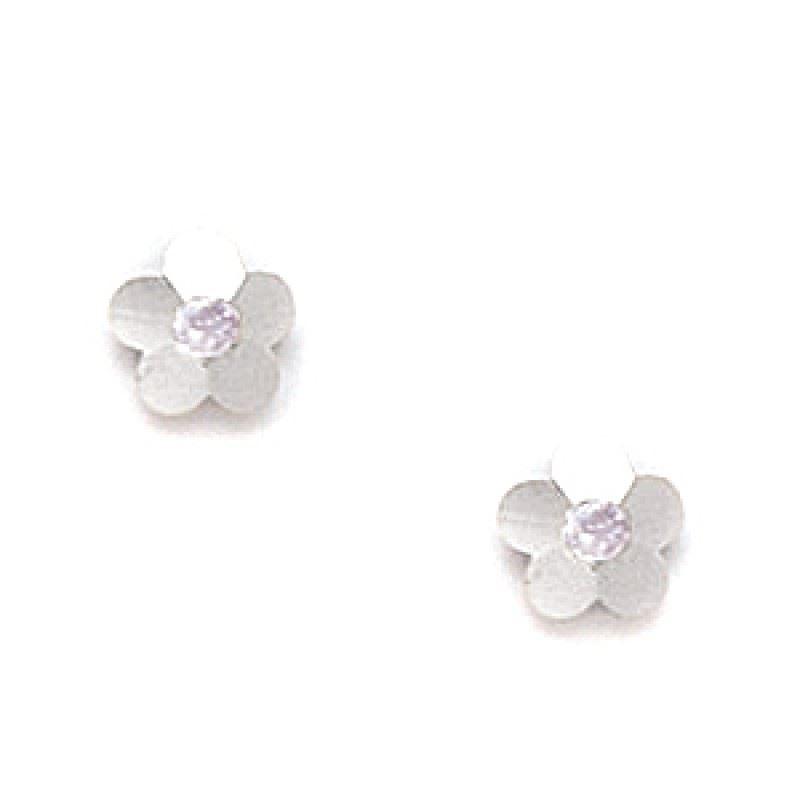 Alexandrite Earrings White Gold White Gold Alexandrite
